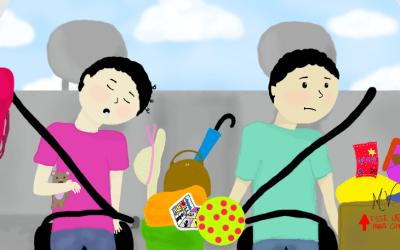 Viajando de carro