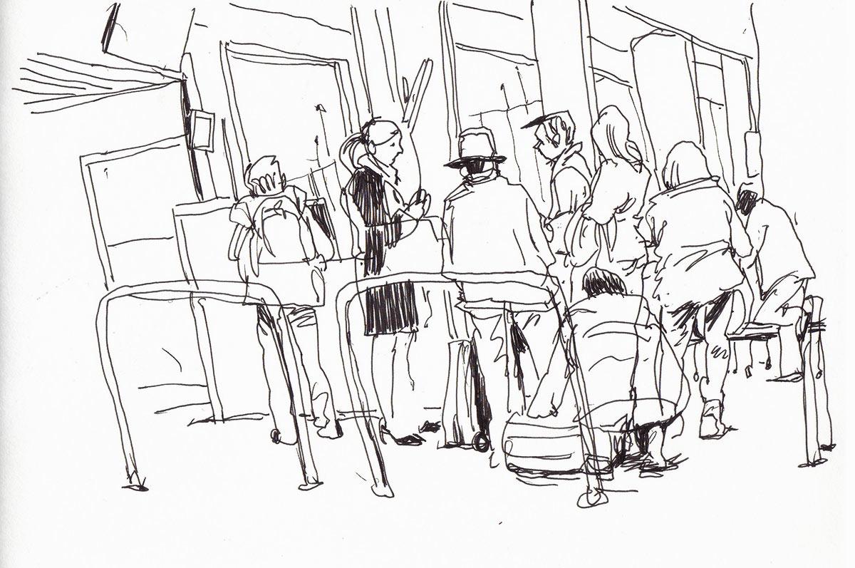 Urban Sketchers Switzerland November