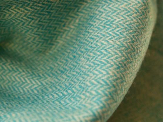 étole turquoise