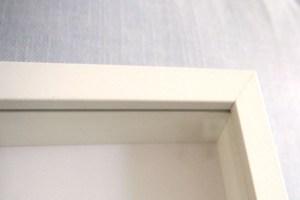 Lamina dibujo Mini Cooper enmarcada Efecto caja