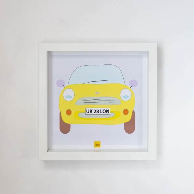 lámina mini amarillo