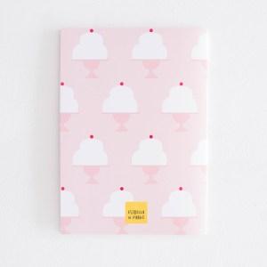 Ilustradora Estrella de Pablo, cuaderno rosa back