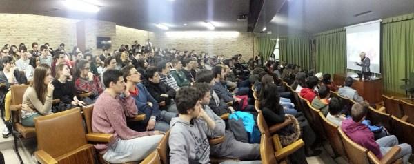 Estrella Flores-Carretero presentación colegio Patrocinio San José