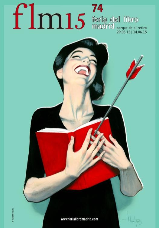 Feria del Libro Madrid 2015 Estrella Flores-Carretero