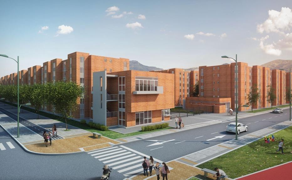 Proyectos de vivienda  Apartamento  HOGARES SOACHA LA