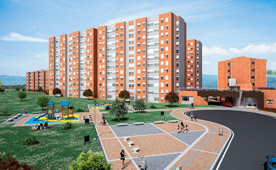 Proyectos de vivienda  Apartamento  ALTAVISTA DEL PORTAL