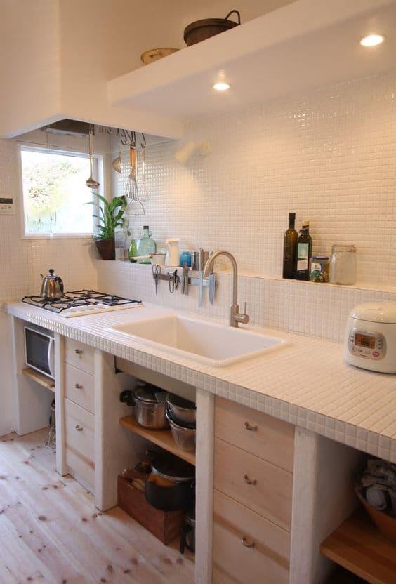 Insprate con estas Cocinas Rsticas de Obra  Estreno Casa