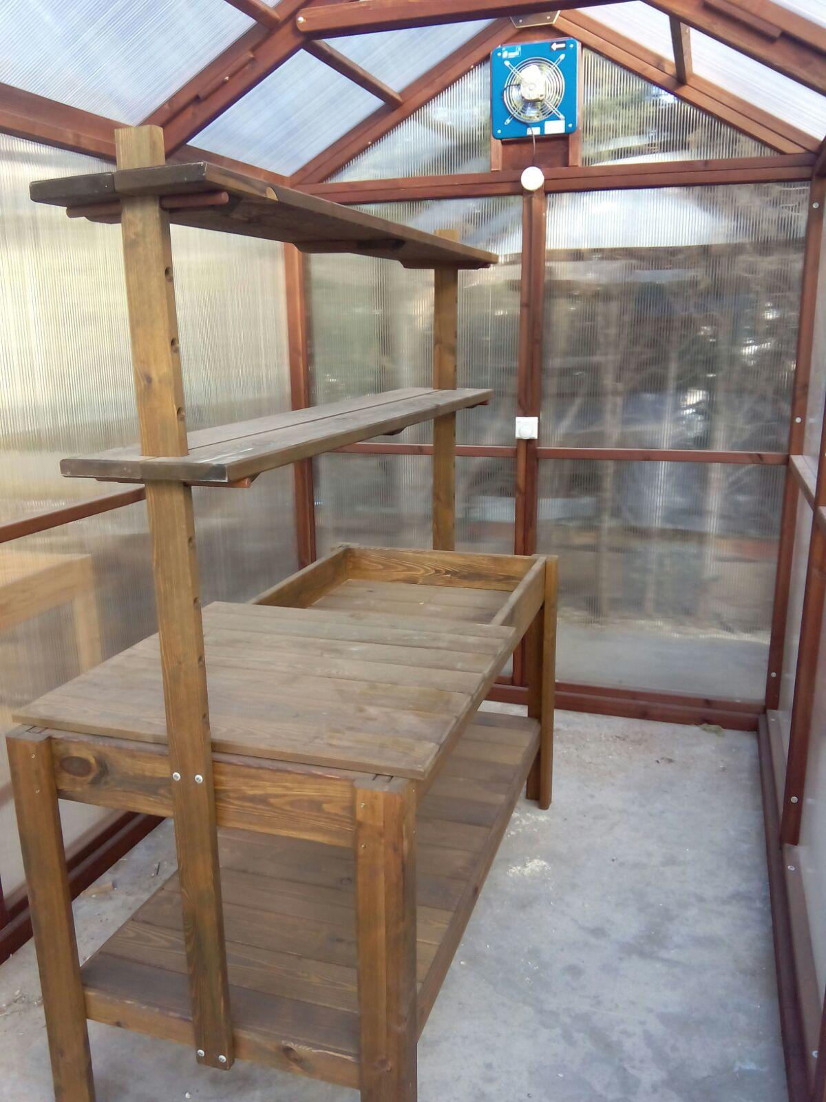 Invernadero de madera profesional  Estrucmader
