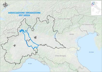 Il comprensorio interregionale