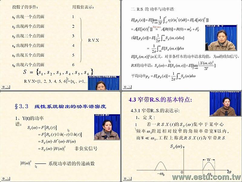 隨機信號分析-全35集   易學族課程網