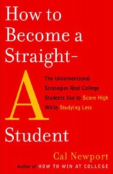 how to become a straight A student cover