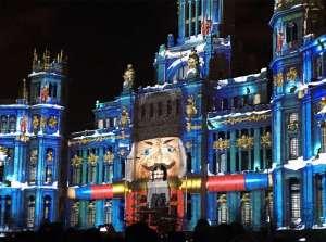 Ayuntamiento de madrid nocturna