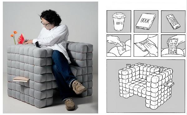 Estudio Logos  Lost in Sofa un silln de diseo
