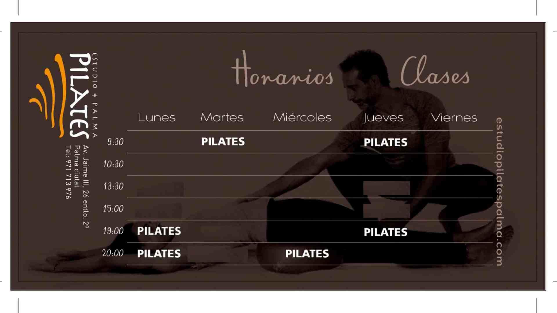 Horario Pilates