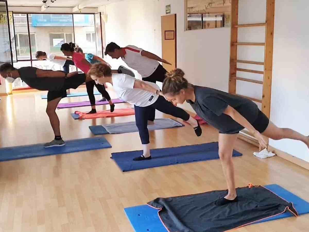 Pilates suelo (Respiración y equilibrio)