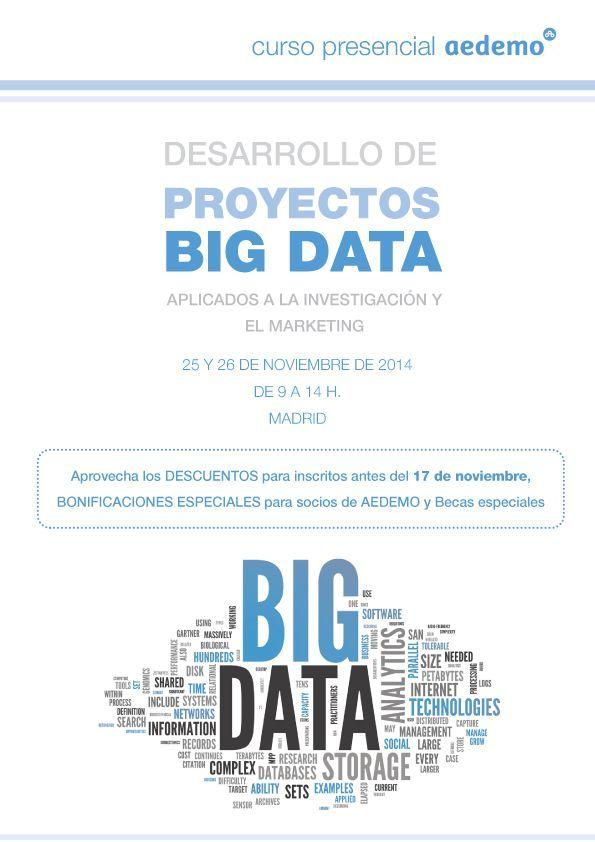 Desarrollo proyectos Big Data