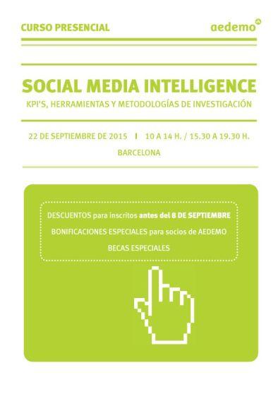Social Media Intelligence Septiembre 2015