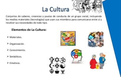 La Cultura y sus Elementos