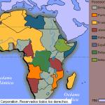 MAPA COLONIAS EUROPEAS AFRICA