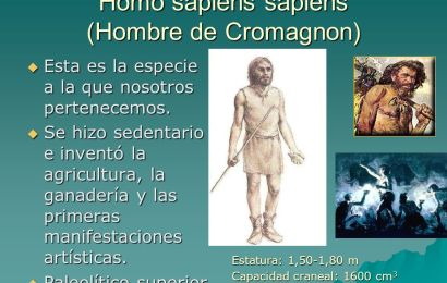 Características del hombre de Cromagnon –  parte 1