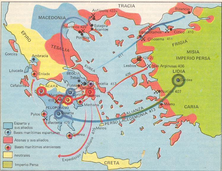 Guerra del peloponeso – 2