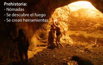 Características de la prehistoria – Parte 1
