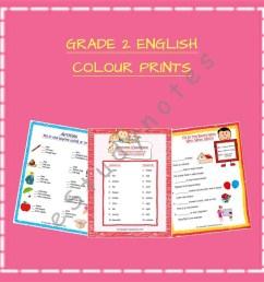 Grade 2 - English [ 1000 x 1000 Pixel ]