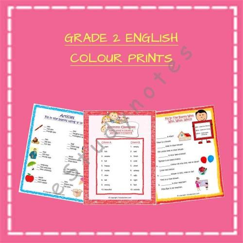 small resolution of Grade 2 - English