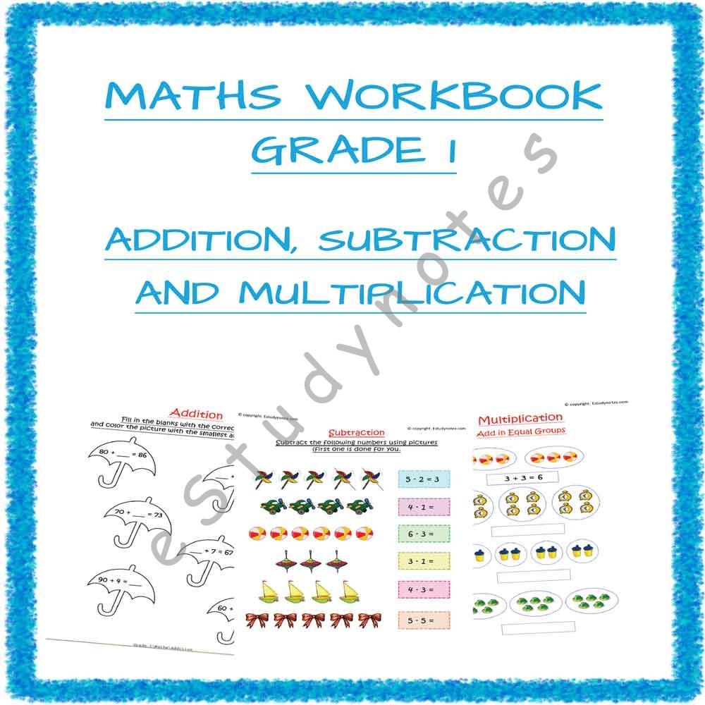 hight resolution of cbse maths subtraction worksheet for grade 1 - EStudyNotes