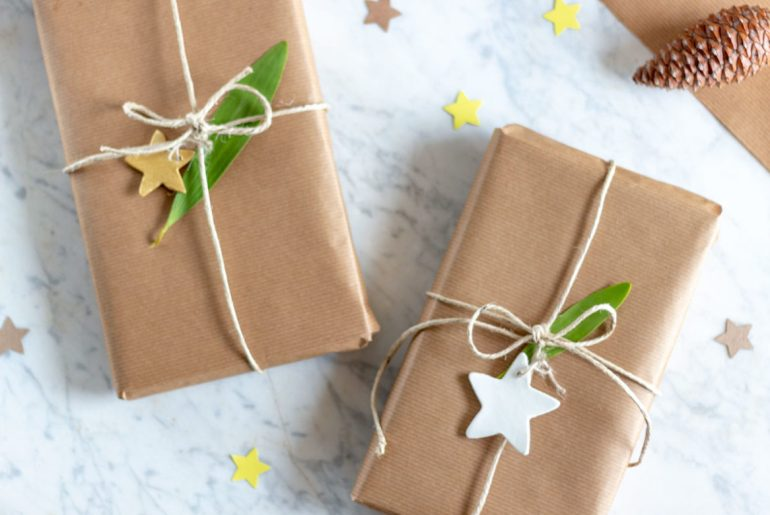 Maneras sostenibles de envolver tus regalos