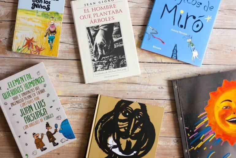 Libros molones sobre medioambiente y arte