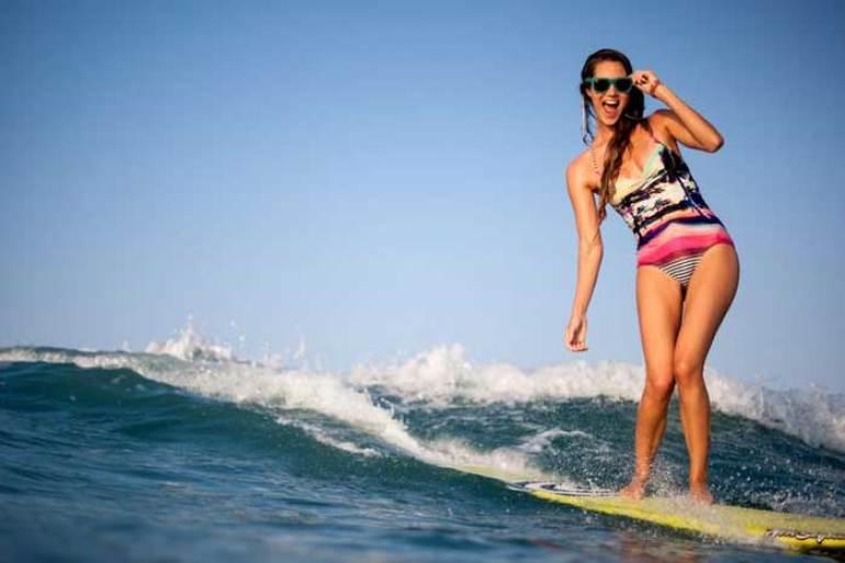 Cómo ponerte en forma en la playa #surf