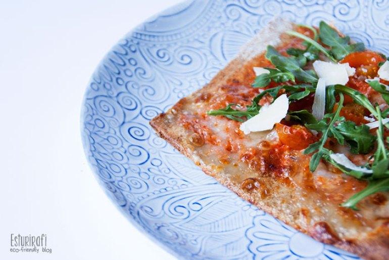 Las recetas de Esturirafi. Pizza integral #recetas