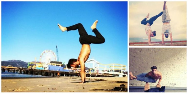 Patrick Beach #Yoga #Instagram