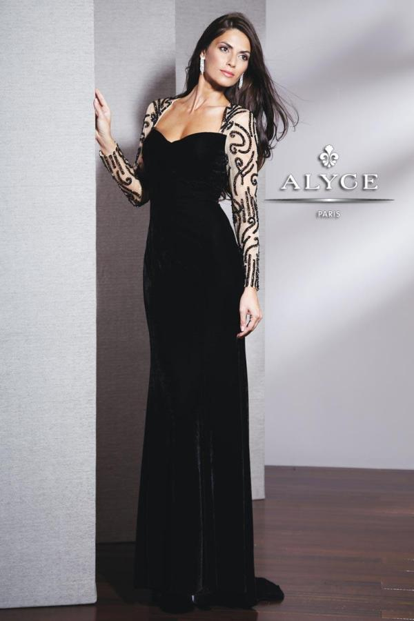 Black Label Alyce Paris Dress Collection Alexandra'