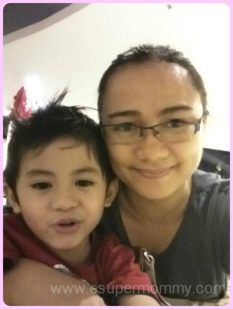 Mommy Jem and son