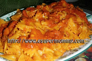 Saucy Delicious Filipino Spaghetti for kids
