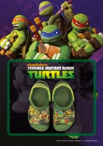 New Releases: Crocs Teenage Mutant Ninja Turtles Line