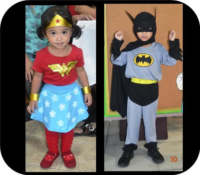 Kids Wonderwoman and Batman Costume  sc 1 st  Experience of a Super Mommy & Halloween 2014 by Mommy Bloggers Philippines at the Fun Ranch ...