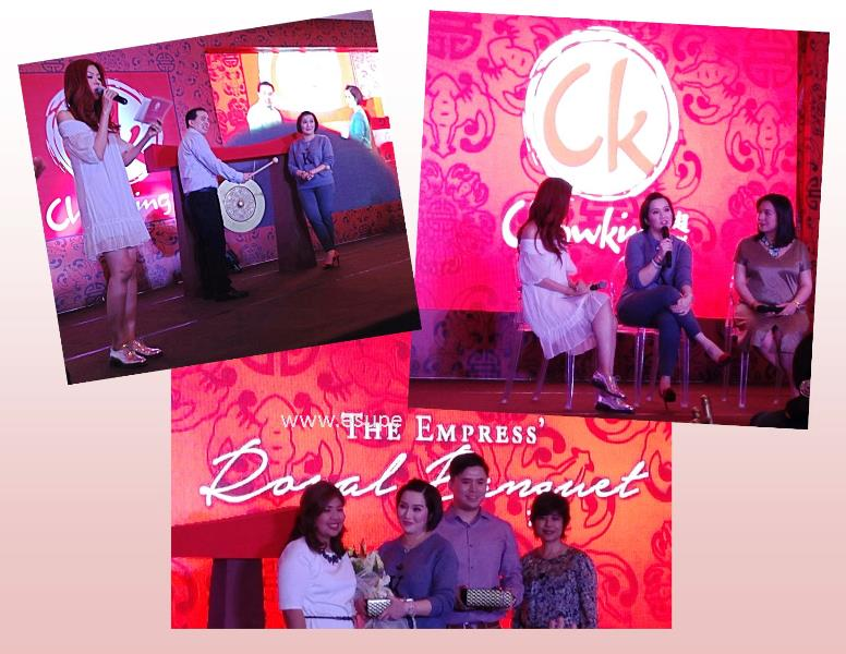 Chowking Welcomes Kris as the newest franchisee