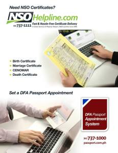 Hassle-Free Way of Getting an NSO Birth Certificate, DFA Passport and More