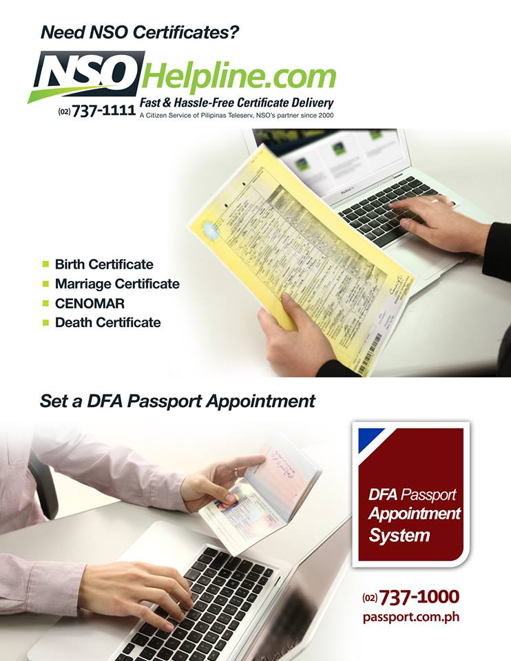 Easy way to request NSO & DFA documents