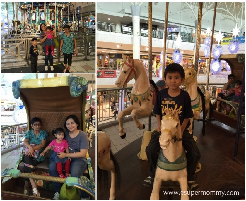 Festival Mall Fairies Wheel ride