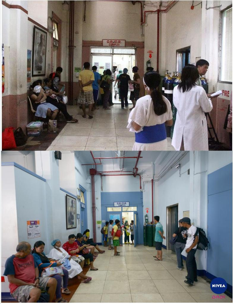 Improved Hallway of OR/DR Fabella Maternity wing