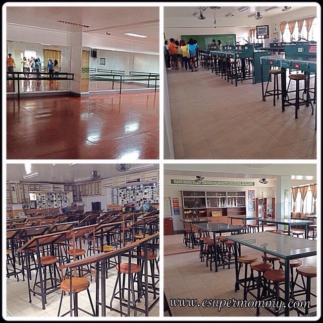 Statefields School Laboratories and dance studio