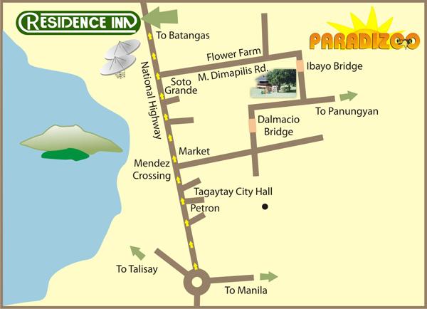 Paradizoo Map