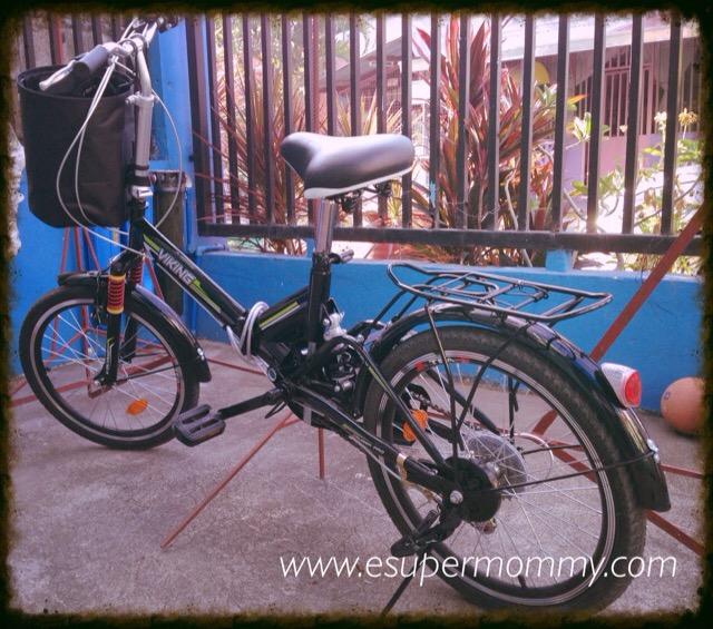 Practical Ride in a Folding Bike