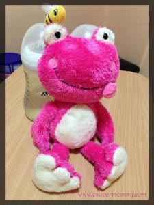 Girly Frog Toy Luscinia