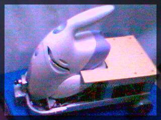 PC-based wireless vacuum cleaner robotics project