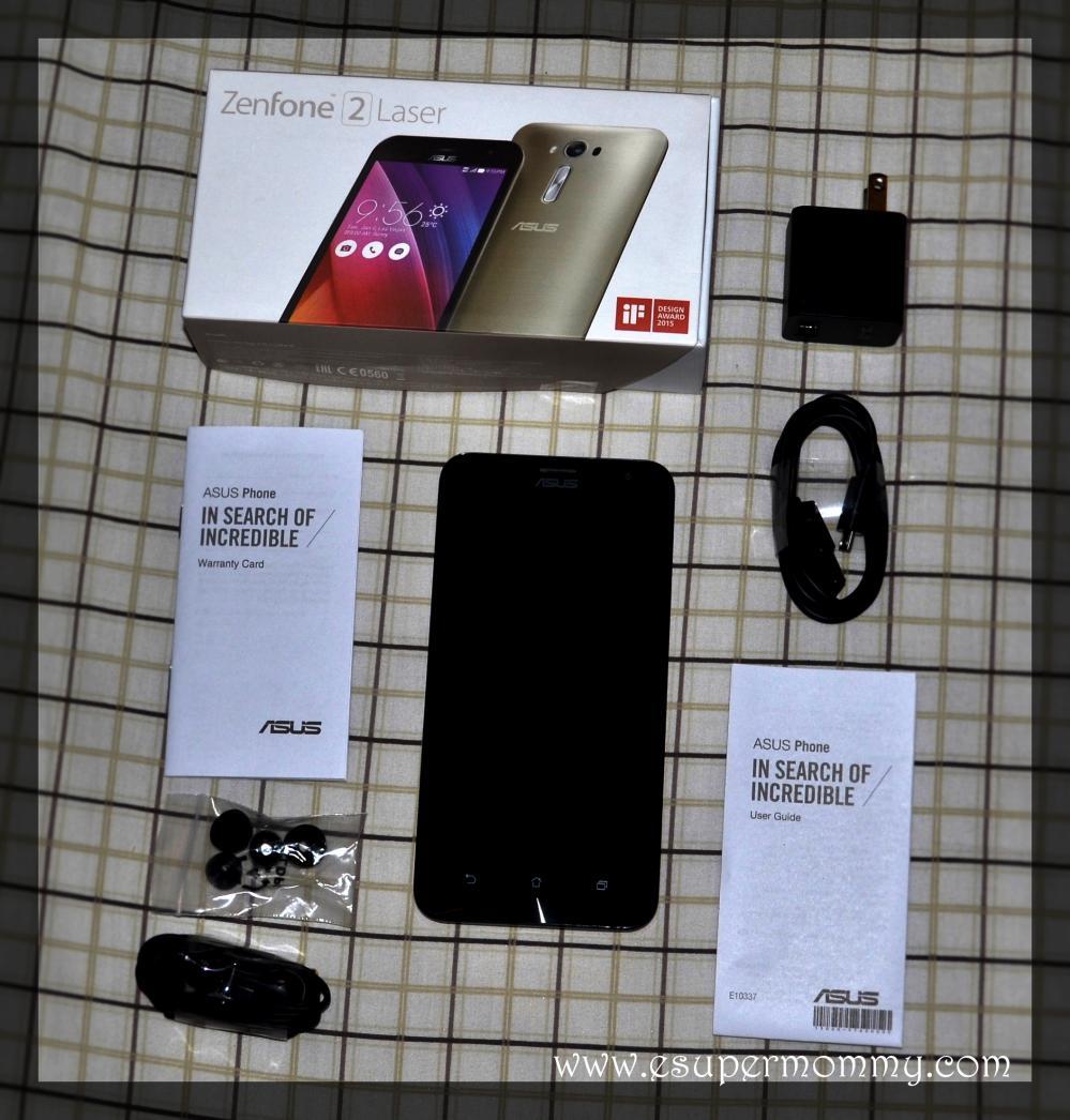 ASUS Zenfone 2 Laser 5.5 S unboxing